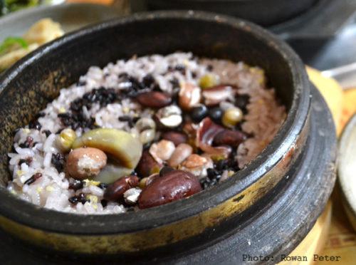 תבשיל שעועית וערמונים