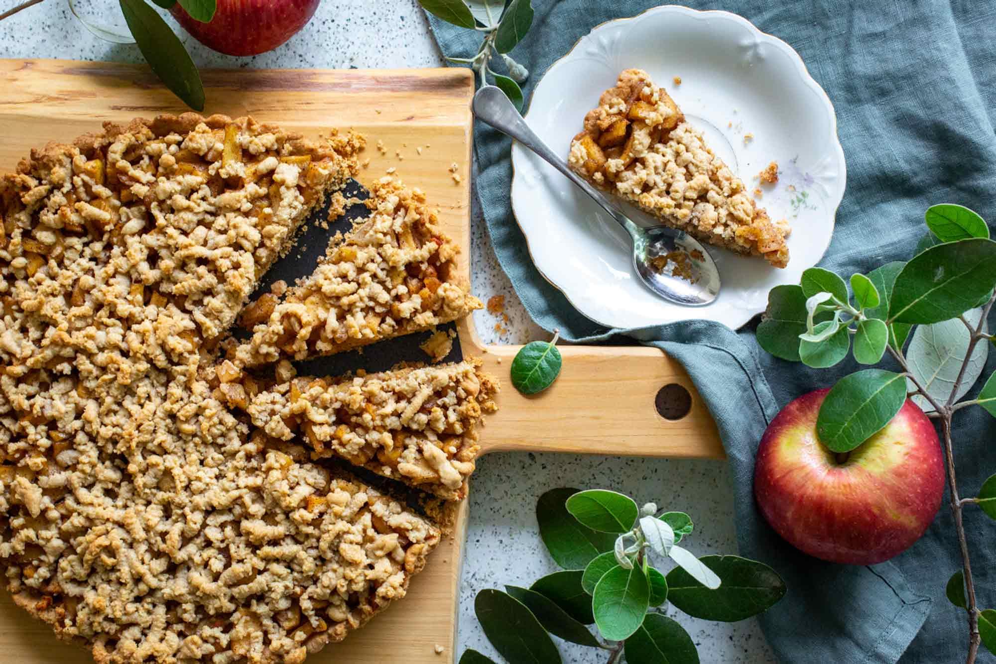 עוגת תפוחים