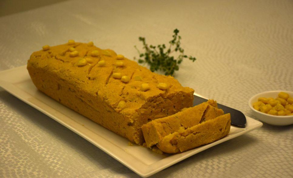 לחם תירס וטופו