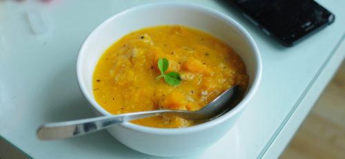 מרק ירקות סמיך