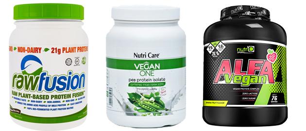 תוספי חלבון טבעוני