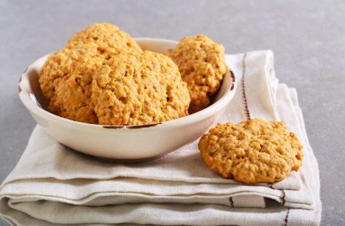 עוגיות דלעת וקוקוס