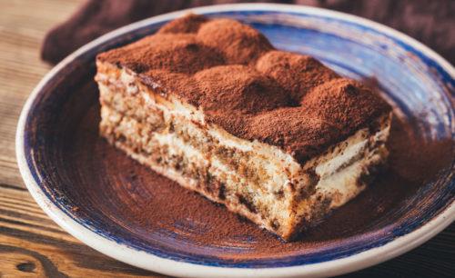 עוגת טירמיסו ללא ביצים