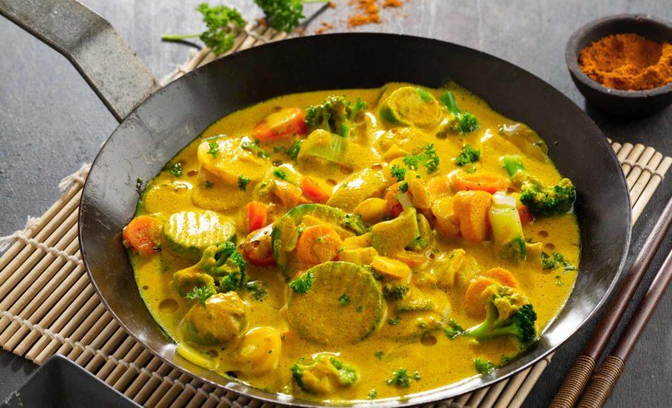תבשיל ירקות בקארי