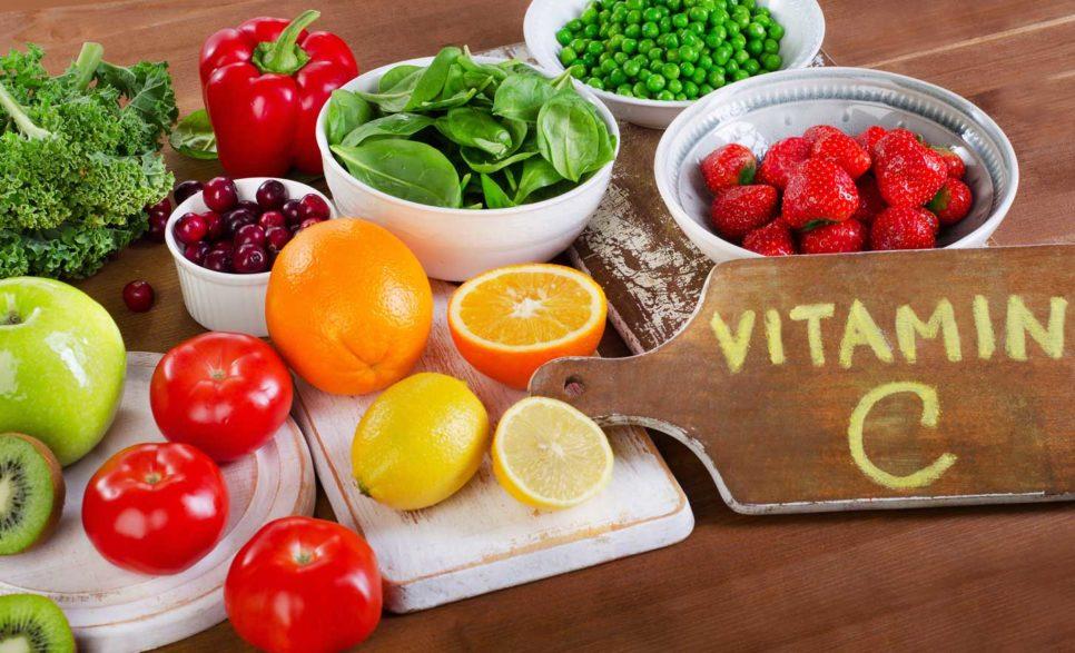 ויטמין C - פירות וירקות