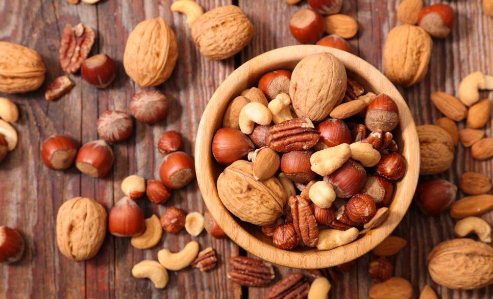 ויטמין E - אגוזים וזרעים